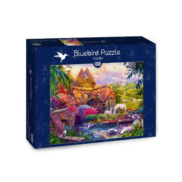 Bluebird 1000 db-os Puzzle - Old Mill - 70305
