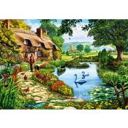 Bluebird 1000 db-os Puzzle - Cottage by the Lake - 70315