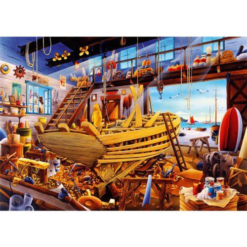 Bluebird 1000 db-os Puzzle - Boat Yard - 70316