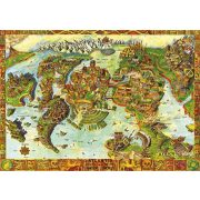 Bluebird 1000 db-os Puzzle - Atlantis Center of the Ancient World - 70317