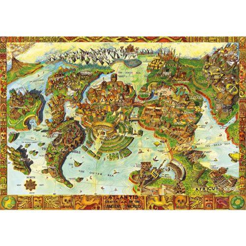Bluebird 1000 db-os Puzzle - Atlantis Center of the Ancient World - 70317