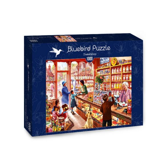 Bluebird 1000 db-os Puzzle - Sweetshop - 70318