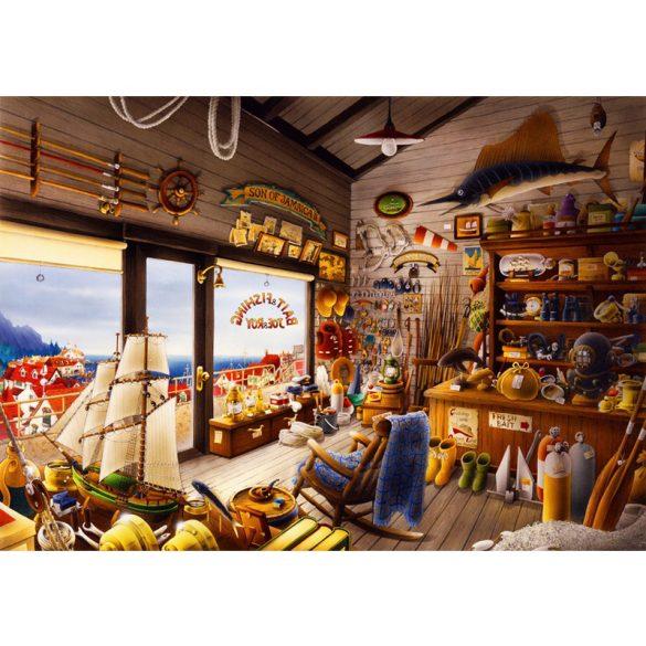Bluebird 1000 db-os Puzzle - Joe & Roy Bait & Fishing Shop - 70321