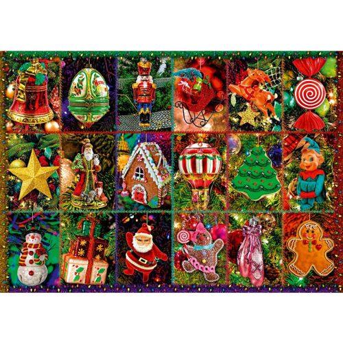 Bluebird 1000 db-os Puzzle - Festive Ornaments - 70325