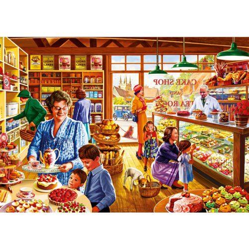 Bluebird 1000 db-os puzzle - Nostalgic Cake shop 70326