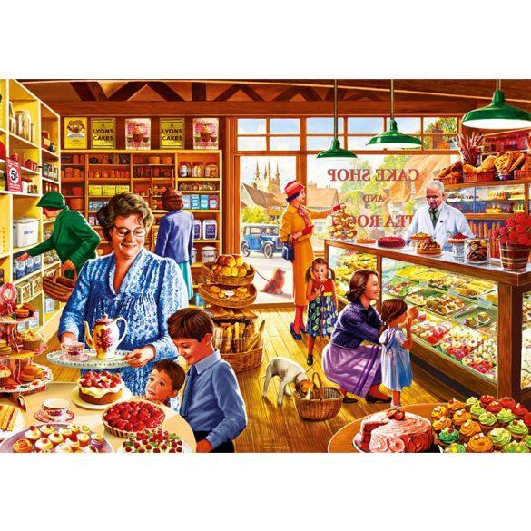 Bluebird Puzzle 1000 db-os puzzle - Nostalgic Cake shop 70326