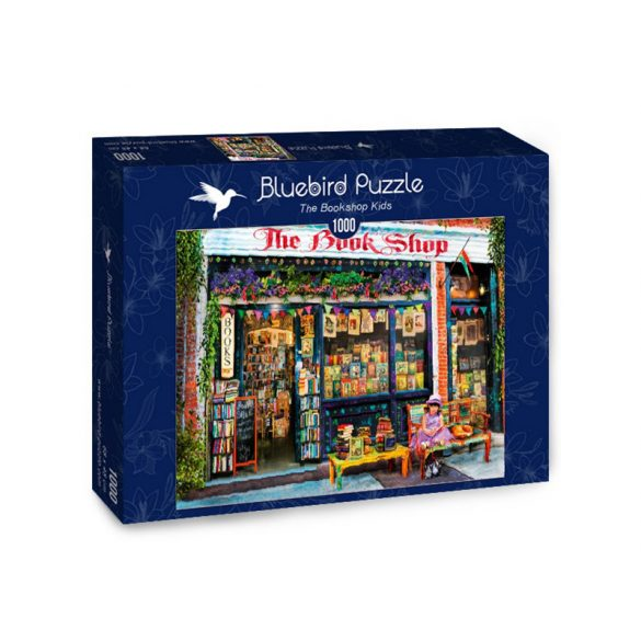 Bluebird 1000 db-os puzzle - The Bookshop Kids - 70327