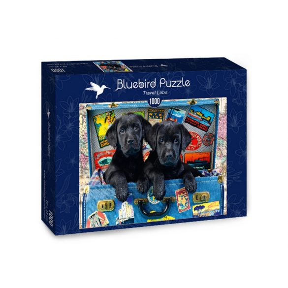 Bluebird 1000 db-os Puzzle - Travel Labs - 70328