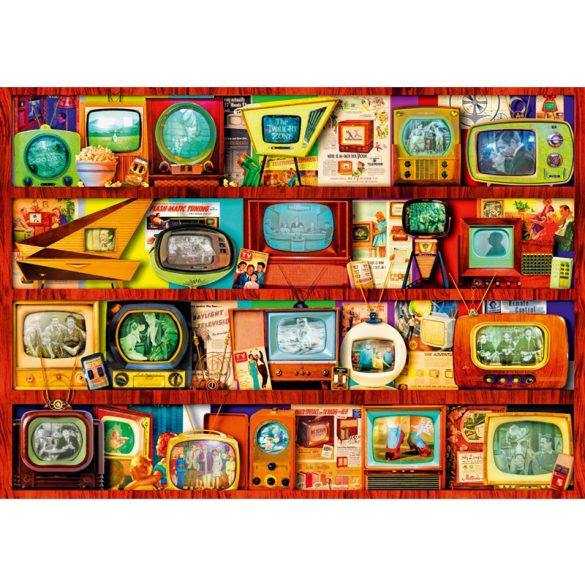 Bluebird 1000 db-os Puzzle - Golden Age of Television-Shelf - 70330