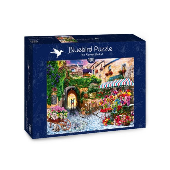 Bluebird 1000 db-os puzzle - The Flower Market - 70334