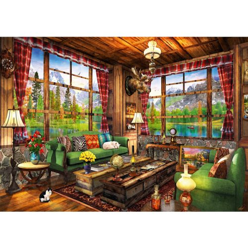 Bluebird 1000 db-os puzzle - Mount Cabin View - 70336