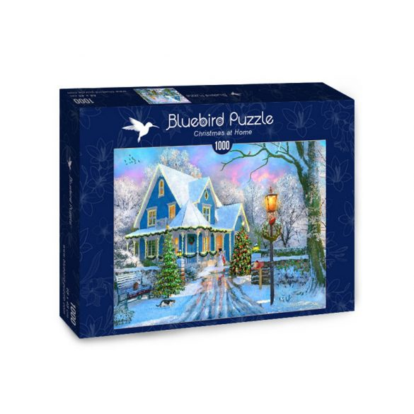 Bluebird 1000 db-os Puzzle - Christmas at Home - 70340