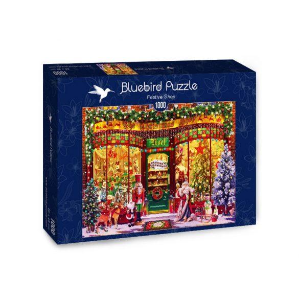 Bluebird 1000 db-os Puzzle - Festive Shop - 70342
