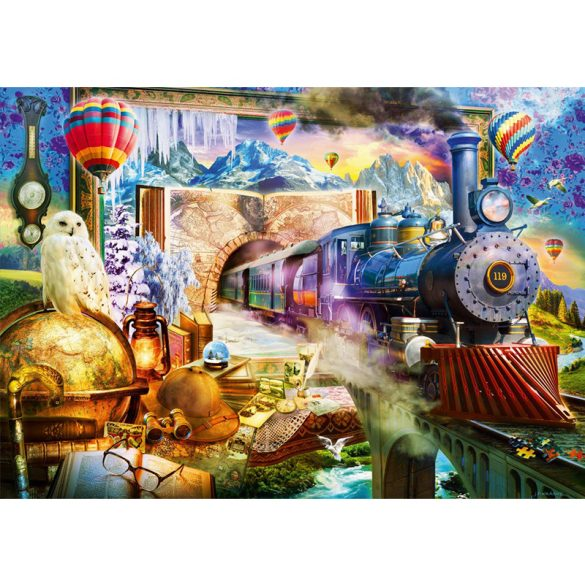 Bluebird 1000 db-os Puzzle - Magical Journey - 70343