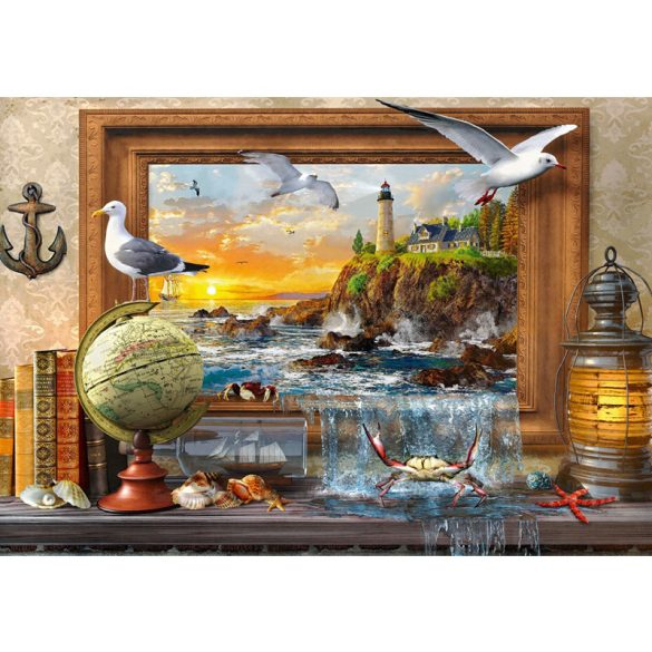 Bluebird 1000 db-os Puzzle - Marine to Life - 70346
