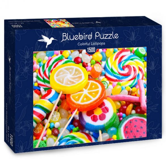 Bluebird 1500 db-os Puzzle - Colorful Lollipops -  70379