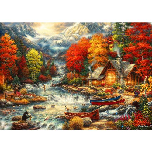 Bluebird 1000 db-os puzzle - Treasures of the Great Outdoors 70408