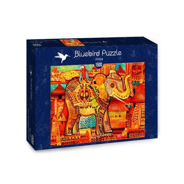 Bluebird 1500 db-os Puzzle - Africa - 70413