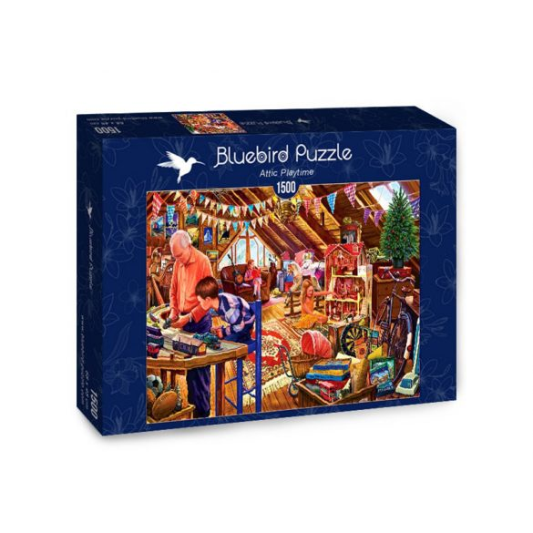 Bluebird 1500 db-os puzzle - Attic Playtime - 70433