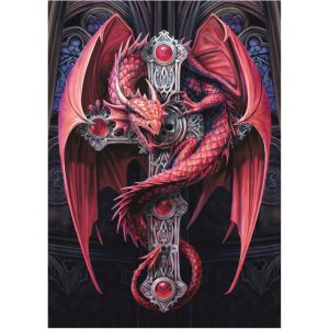 Bluebird 2000 db-os puzzle - Anne Stokes - Gothic Guardian 70439