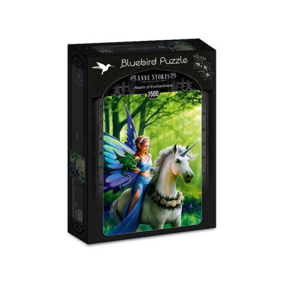 Bluebird 1500 db-os puzzle - Anne Stokes - Realm of Enchantment 70440