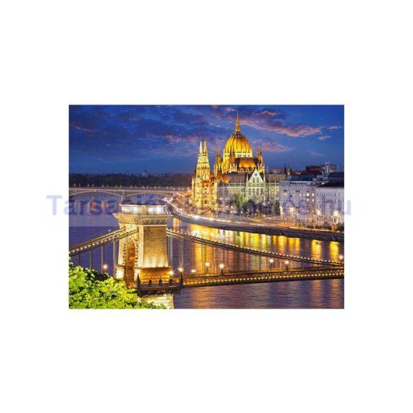 Castorland 2000 db-os puzzle - Budapesti látkép alkonyatkor (CAS200405)