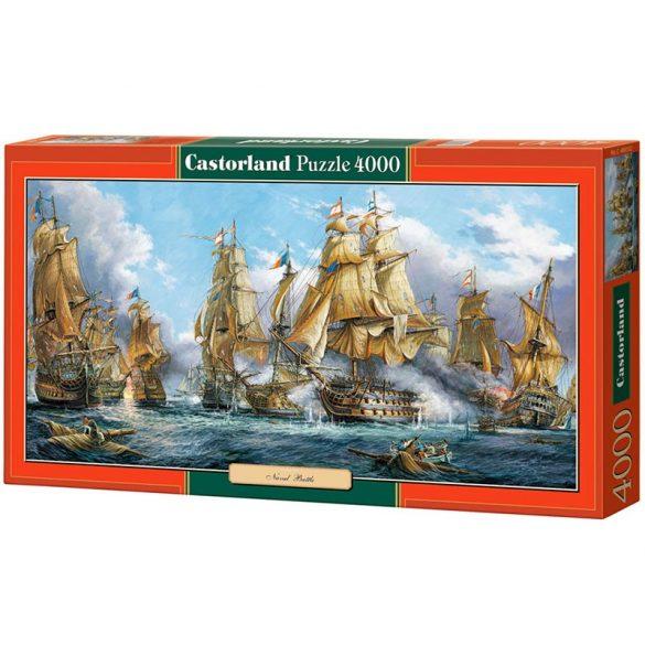 Castorland 4000 db-os puzzle - Tengeri csata 400102