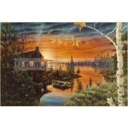 Puzzle 2000 db-os Őszi este - Clementoni