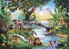 Puzzle 2000 db-os Esőerdő - Clementoni