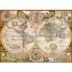 Puzzle 3000 db-os Antik világtérkép - Clementoni (33531)