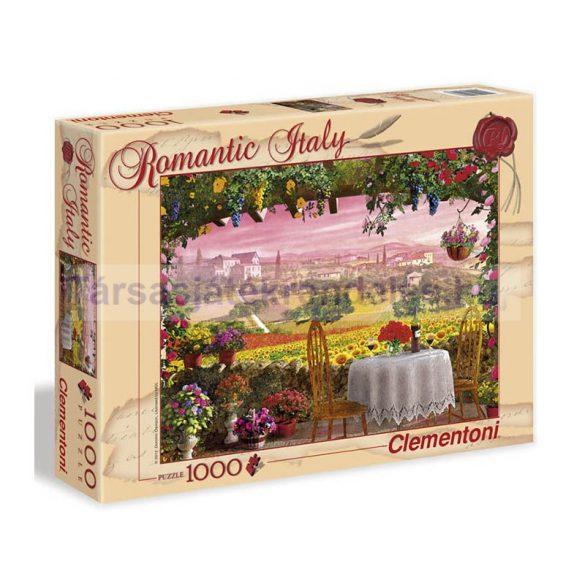 Puzzle 1000 db-os-Romantikus Toszkána-Clementoni