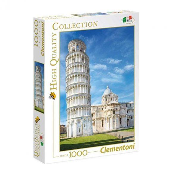 Puzzle 1000 db-os - Pisa, Olaszország - Clementoni 39455