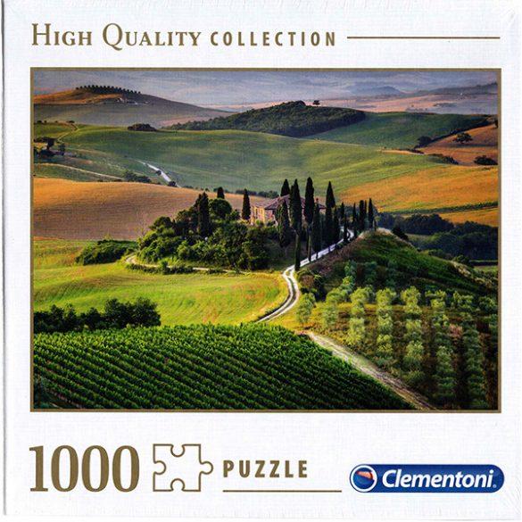 Clementoni 1000 db-os puzzle négyzet alakú dobozban - Toszkána, Olaszország 39456TR