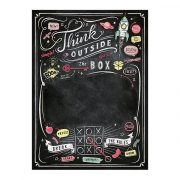 Puzzle 1000 db-os - Black Board Puzzle - Think Outside the Box- Clementoni 39468