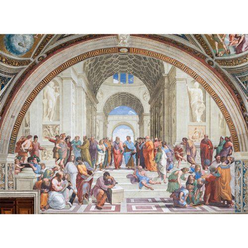Puzzle 1000 db-os - Raffaello - La scuola di Atene - Clementoni 39483