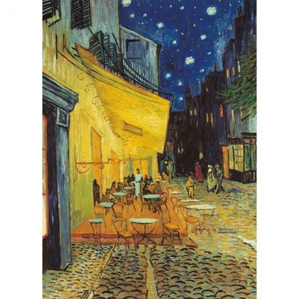 Clementoni 1000 db-os Múzeum Kollekció puzzle négyzet alakú dobozban - Van Gogh - Éjjeli kávézó 94930