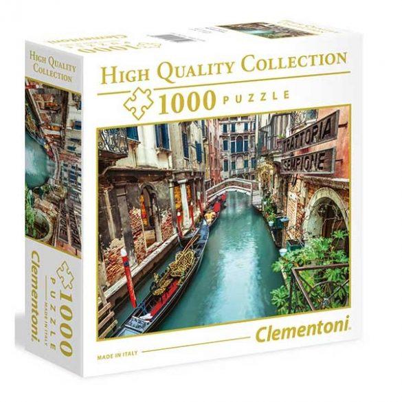 Clementoni 1000 db-os puzzle négyzet alakú dobozban - Velence, Olaszország 96159
