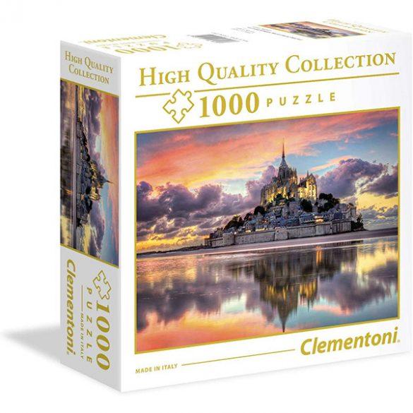 Clementoni 1000 db-os puzzle négyzet alakú dobozban - Mont-Saint-Michel 96160