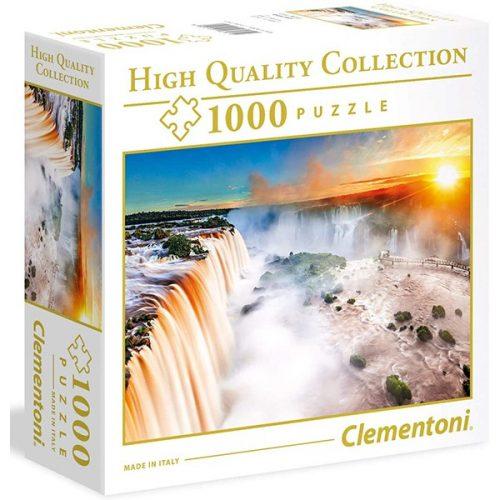 Clementoni 1000 db-os puzzle négyzet alakú dobozban - Vízesés  96161