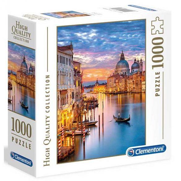 Clementoni 1000 db-os puzzle négyzet alakú dobozban - Velence fényei 96699