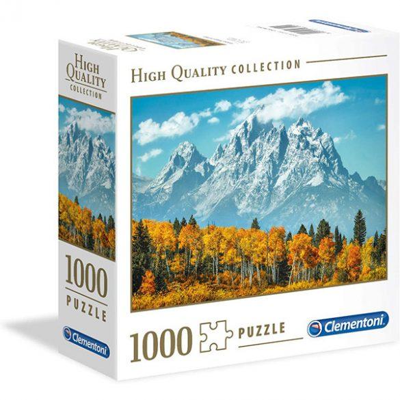 Clementoni 1000 db-os puzzle négyzet alakú dobozban - A Grand Teton ősszel 96700