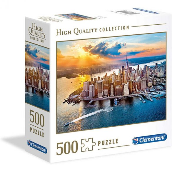 Clementoni 500 db-os puzzle négyzet alakú dobozban - New York 97322