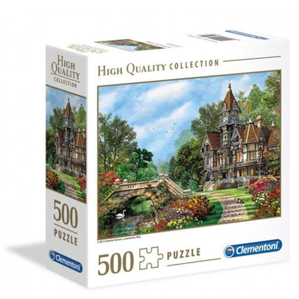 Clementoni 500 db-os puzzle négyzet alakú dobozban - Vidéki villa 97324