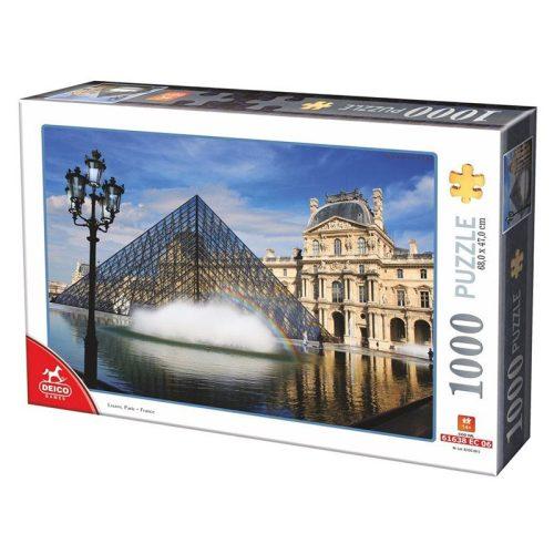 Deico Games 1000 db-os puzzle - Le Louvre, Paris - 75772