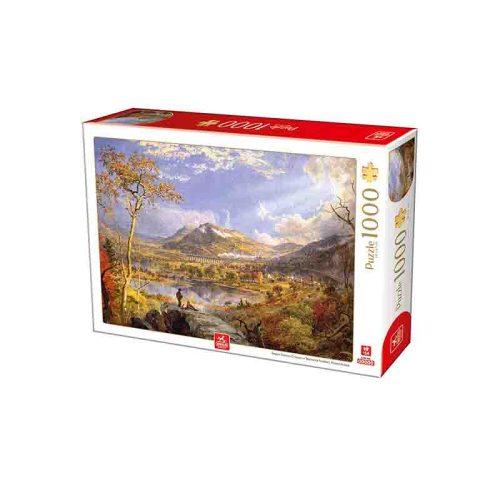 Deico Games 1000 db-os puzzle - Francis Cropsey: Starrucca Viaduct Pennsylvania - 76694