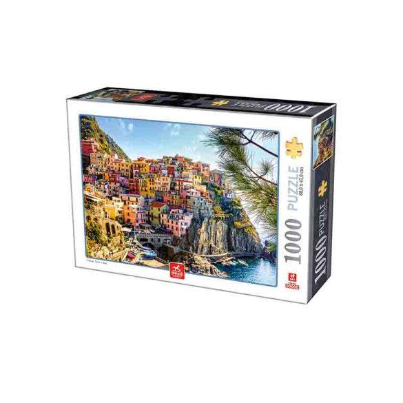 Deico Games 1000 db-os puzzle - Cinque Terre - Italy - 76809