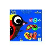 Djeco 19 db-os Óriás puzzle - Pöttyöske és a barátai 07115