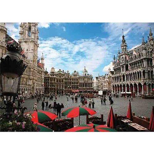 D-Toys 1000 db-os puzzle - Famous Places: Brussels, Belgium - 64288