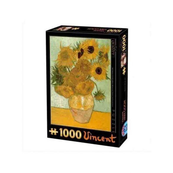 D-Toys 1000 db-os puzzle - Van Gogh: Sunflowers - 66916