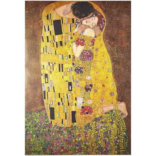 D-Toys 1000 db-os puzzle - Klimt: The Kiss - 66923